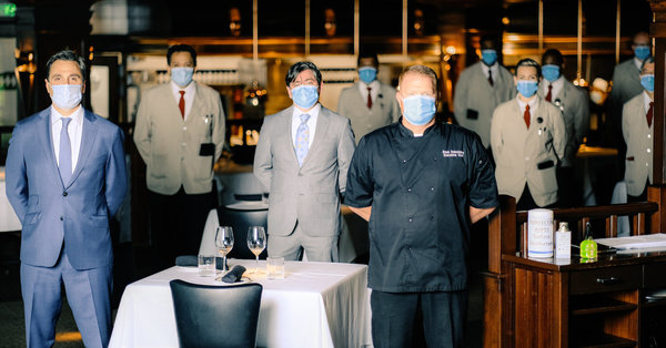 The New Face of Restaurant Hospitality Wears a Mask