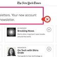 Agressive opt-in tactics at NY Times