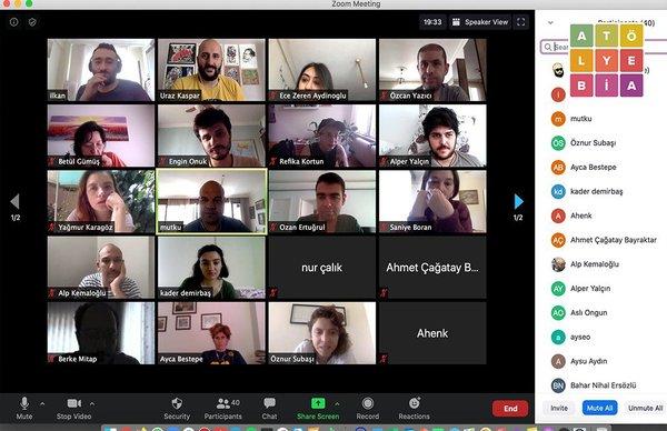 ATÖLYE BİA / ONLINE PODCAST PROGRAMI - MAYIS 2020: Medyapod'la Birlikte Podcast Atölyesi Gerçekleştirildi