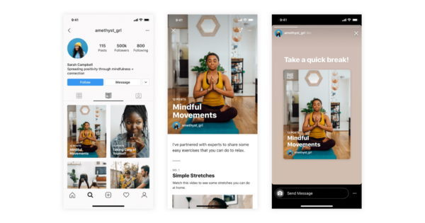 Instagram Debuts Guides Feature With Initial Focus on Wellness, Mental Health