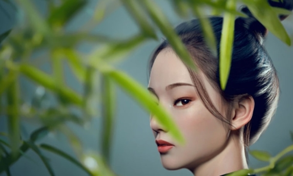 China debuts AI virtual idol