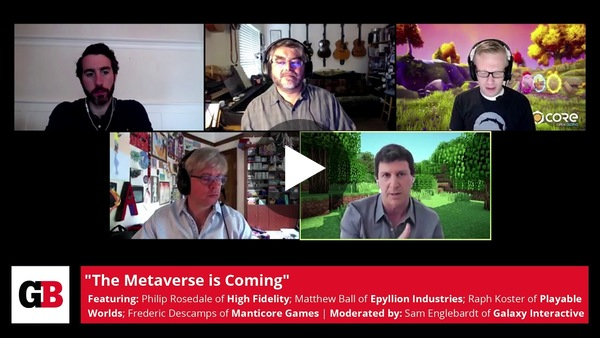 Join us as GamesBeat explores the potential Metaverse with the likes of Raph Koster, Philip Rosedale, and Federic Descamps.