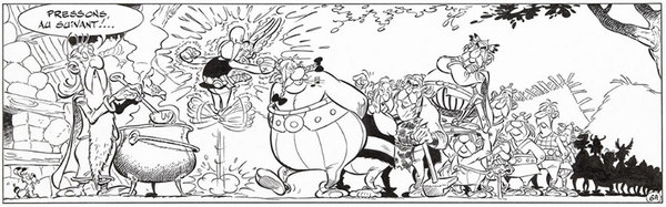 Albert Uderzo - Asterix Original Comic Art