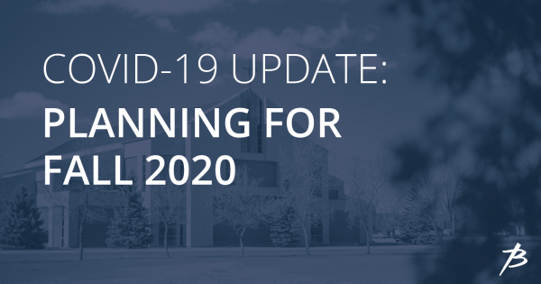 What will fall 2020 look like?
