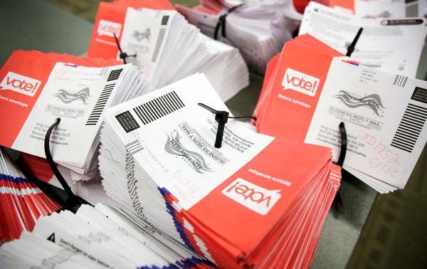 Miljoenen Amerikanen stemmen elke vier jaar per post