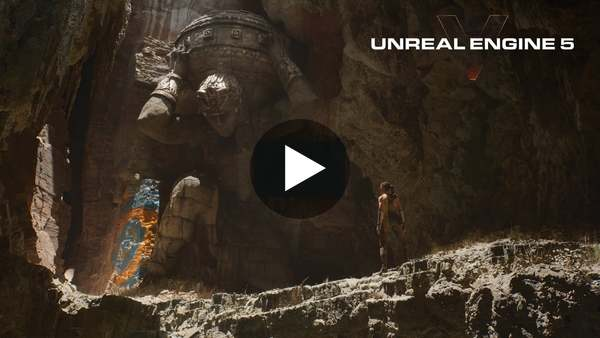 Unreal Engine 5 | Next-Gen Real-Time Demo Running