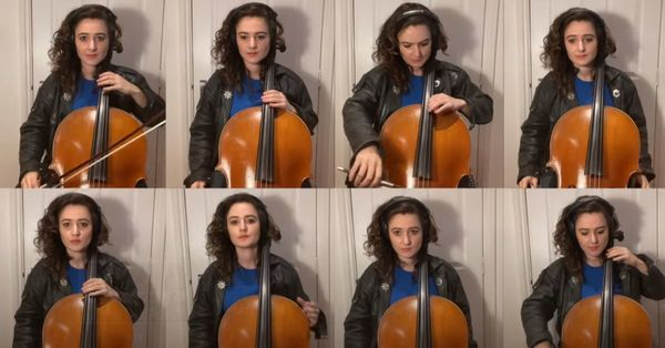 The 'Knight Rider' theme song played on the cello is the best kind of Gen-X nostalgia