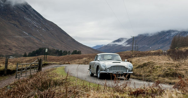 James Bond's Car Comes to Life With Oil-Slick Sprayer, but No Ejector Seat