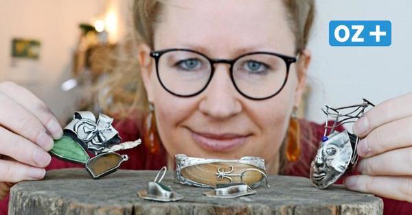 Schmuck aus der Ostsee: Rostockerin zeigt, was Sie aus Ihren Strandfunden machen können