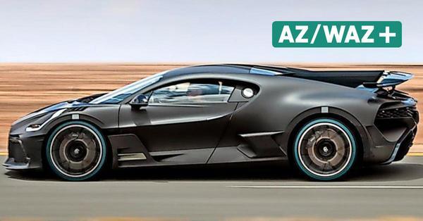 1500 PS - Bugatti Divo: Die agile Schwester des Hypersportwagens Chiron
