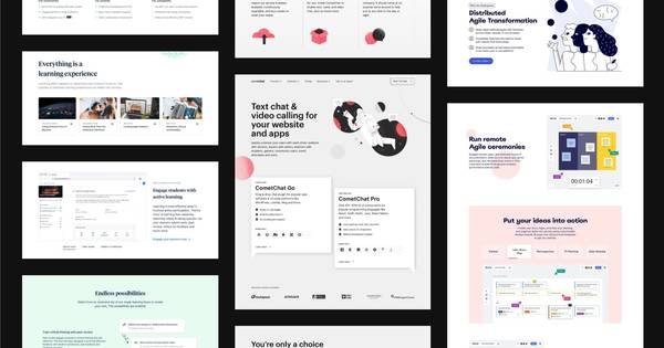 Nice very nice — An extensive collection of  components, patterns, and example layouts