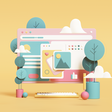 5 Catchy Trends in Digital Illustration in 2020 - Icons8 Blog