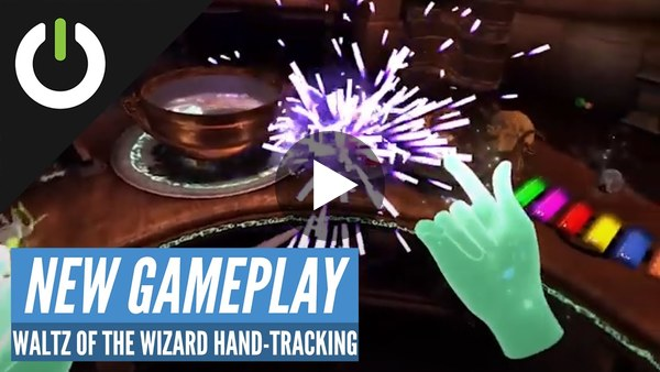 UploadVR shows off how Oculus Quest's hand-tracking works with Waltz of the Wizard.