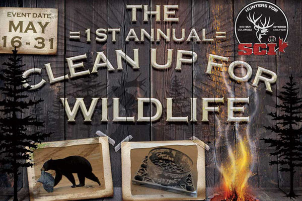 First annual Forest Service Road Clean Up For Wildlife goes until May 31