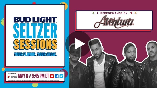 Bud Light Seltzer Sessions con Aventura