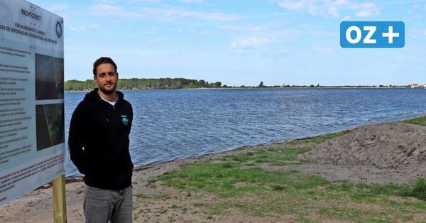 Auf diese Weise wollen Reriker Kitesurfer das Salzhaff schützen