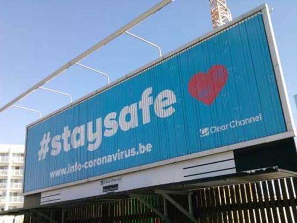 Saaie #staysafe posters