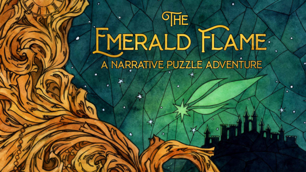 The Emerald Flame - A Narrative Puzzle Adventure by PostCurious