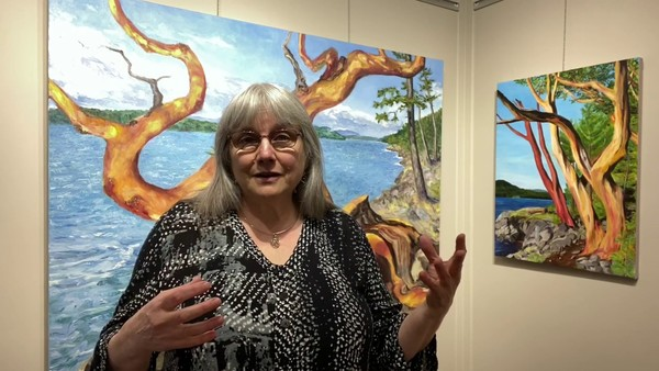 Opening of the new Terrill Welch Gallery Arbutus Room
