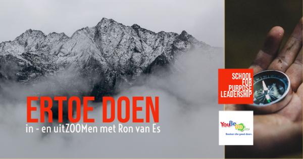 In -en uitZOOMen met Ron van Es