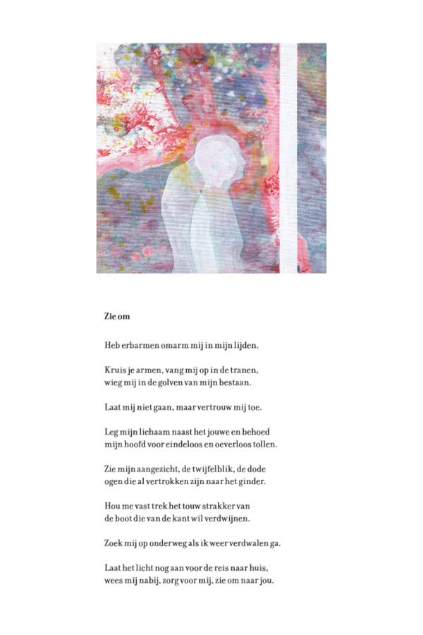 Zie naar jou om' - schilderijen Hanneke Vleugel, gedichten Ron van Es