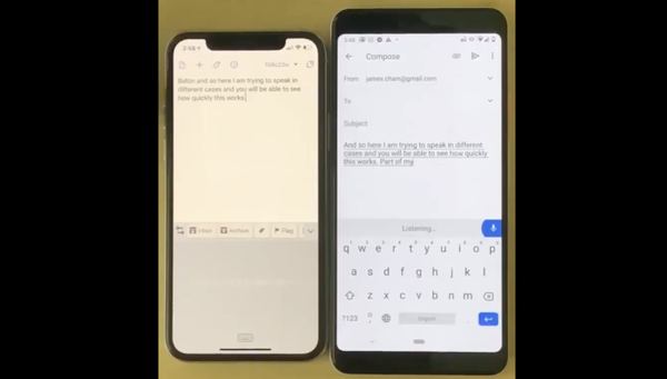 This viral video shows how the Pixel's live voice transcription absolutely destroys the iPhone's (and why it matters)