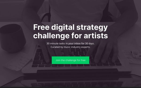 Artist Lockdown Challenge - Improve your digital strategy and online presence.