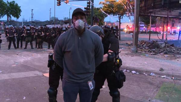 Minnesota police arrest CNN reporter Omar Jimenez and crew