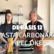 DE BASIS 12: Pasta carbonara