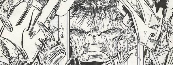 Todd McFarlane Original Hulk Cover Art