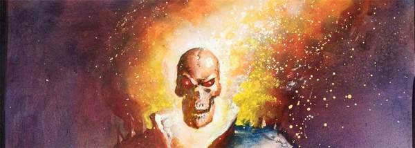 Mark Texeira - Ghost Rider original Comic Art