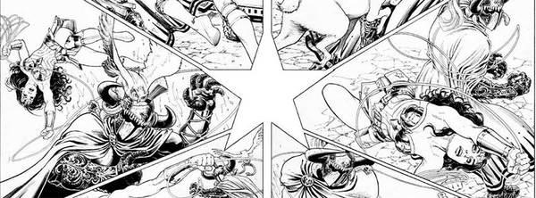 Nicola Scott - Wonder Woman Original Comic Art