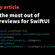 Getting The Most Out Of Xcode Previews  For SwiftUI