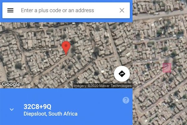 The new feature on Google Maps that could be the solution to Africa's digital addressing problem