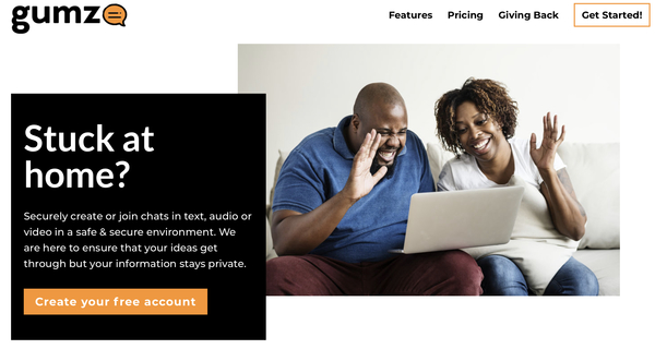 Gumzo is a Zoom and Skype Competitor made in Kenya