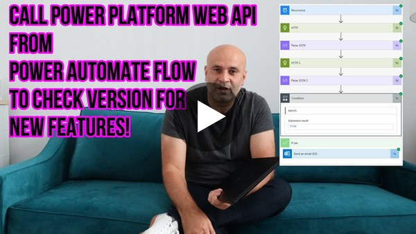 App that Alerts Power Platform Version Changes using Flow