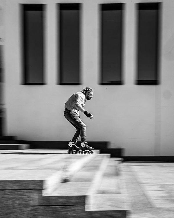 Vlak voor de sprong. Foto: © Studio Rammeloo