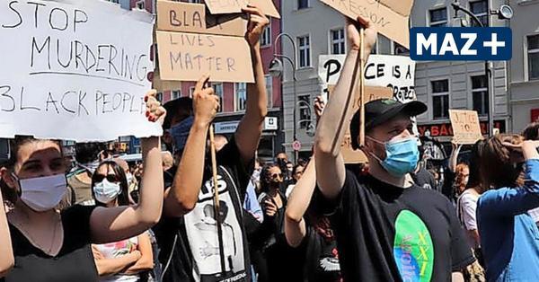 Demo gegen Rassismus in Berlin