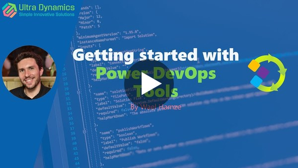 Getting Started with Power DevOps Tools