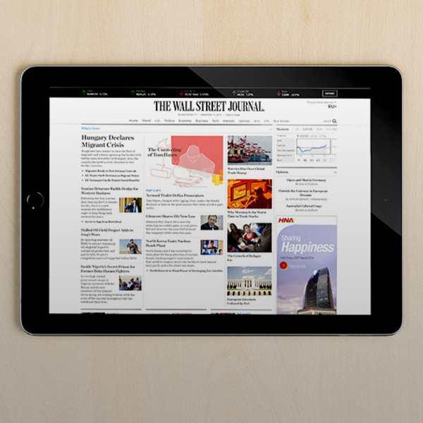 The Wall Street Journal hits 3 million subscribers