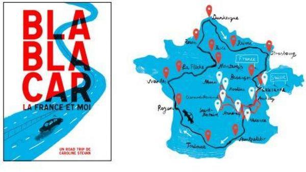Un livre sur la France et Dunkerque en Blablacar - Een boek over liften in Frankrijk dat je langs Dunkerque brengt