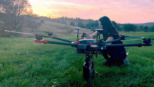 These drones will plant 40,000 trees in a month. By 2028, they'll have planted 1 billion