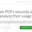 HelpRange. Partage sécurisé et suivi de vos fichiers PDF