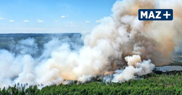 """Moorbrand  unter Kontrolle: """"Wir haben schnell reagiert"""""""