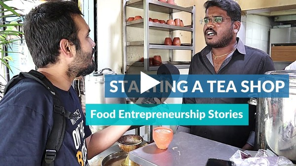 Food Entrepreneur Journey Starting a Tea Shop in Bangalore ☕️