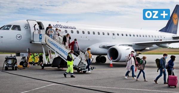 Nach Corona-Zwangspause: Erste Urlaubsflieger in Laage und Heringsdorf gelandet