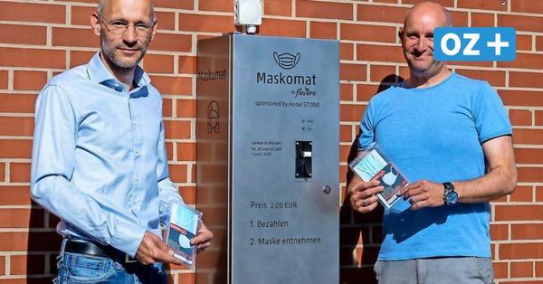 Zingst stellt Masken-Automat für Urlauber auf