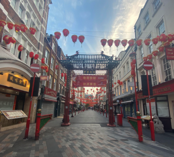 An empty Chinatown on a recent walk!