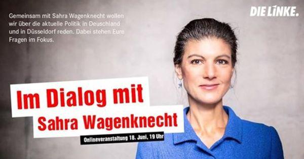 Im Dialog mit Sahra Wagenknecht