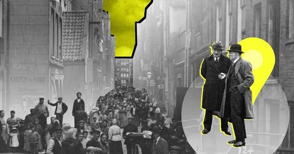 Ga mee op digitale wandeltocht door de straat die niet meer bestaat